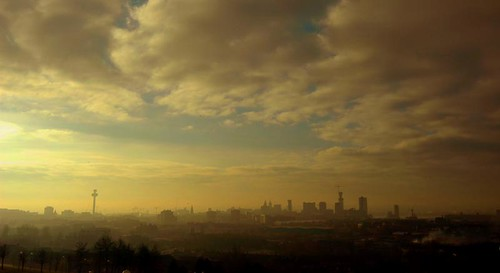 Liverpool skyline from Everton Park
