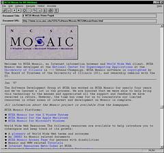 Netscape Mosaic 0.92