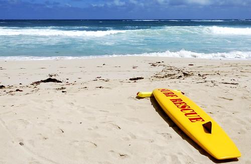 Surf rescue, Margaret River, WA
