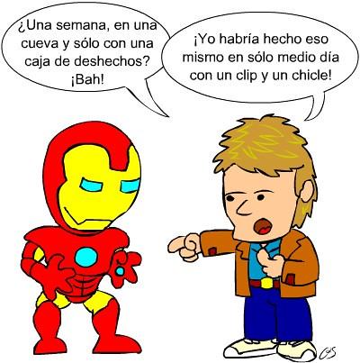 Iron Man vs MacGyver