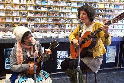 Ghost Bees live! in-store performance at Music Trader on November 17 2007