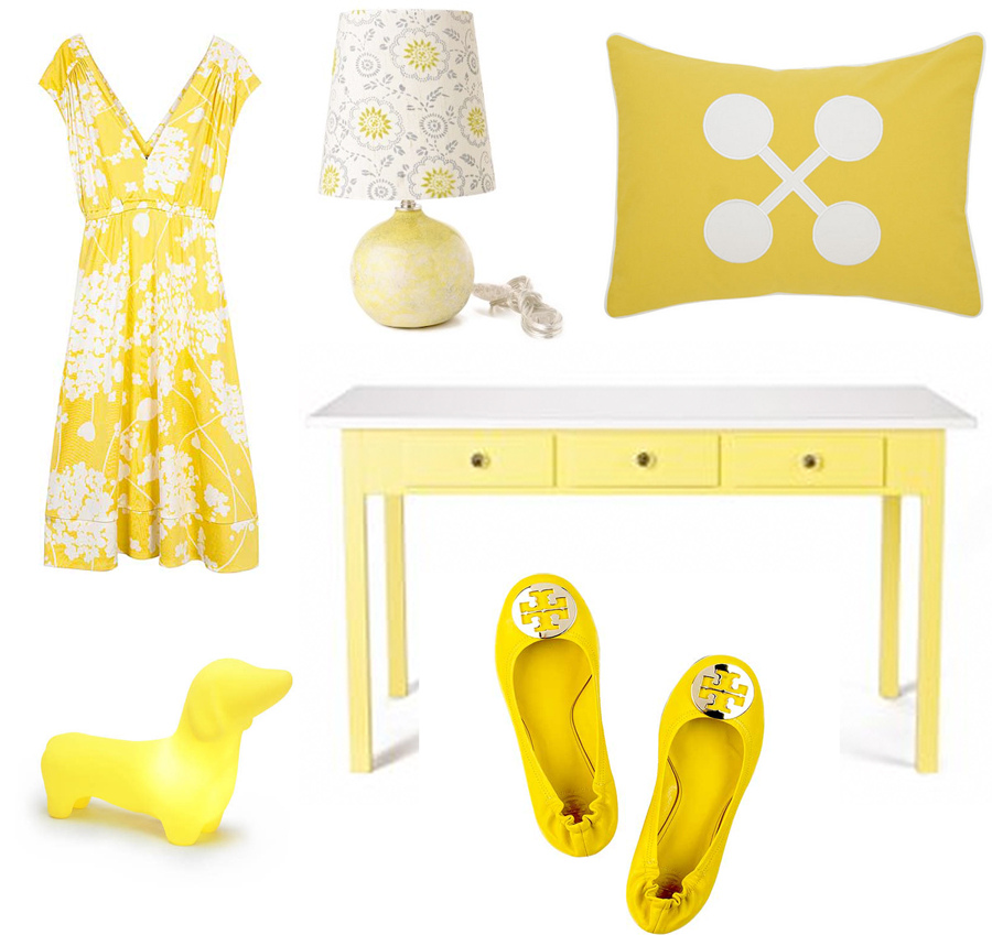 Color Me Monday: Yellow + White