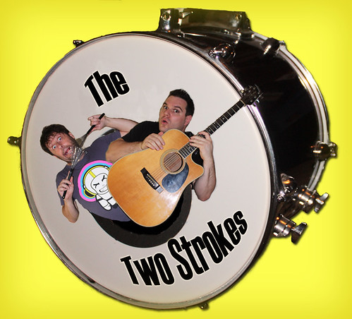 The Two Strokes Graphic