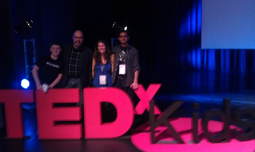 Hackasaurus Crew at TEDxKids