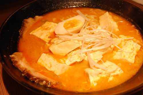 赤鬼拉麵-赤鬼豆腐拉麵