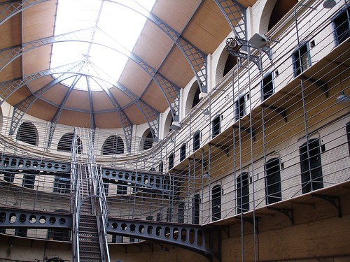 The Victorian part of the prison