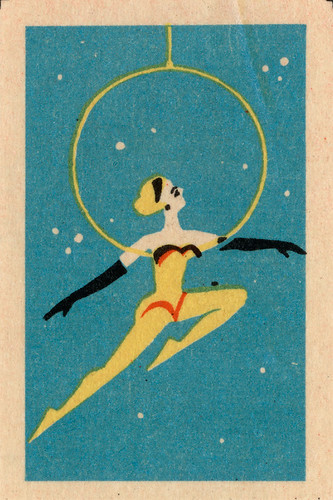 russian matchbox label by maraid