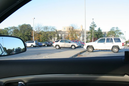 Parking far