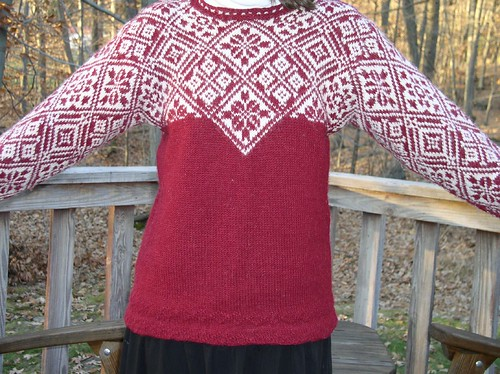 I like this sweater - its really very pretty!