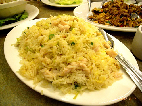 Ho Yuen Kee - Salty fish and chicken rice