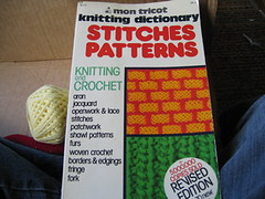 mon tricot knitting dictionary