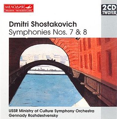 DSCH Sym Nos. 7 & 8