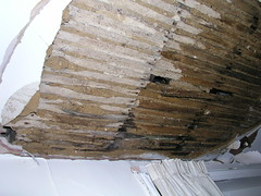 Collapsed ceiling 2
