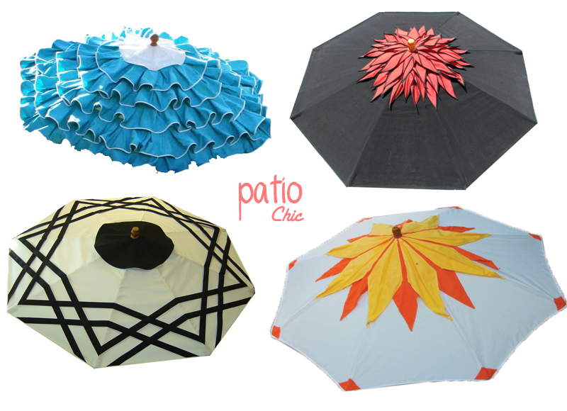 Warp Weft Co. Patio Umbrellas