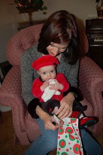 Selah's First Christmas Present