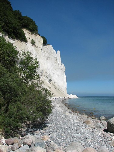 Denmark: the cliffs of Møn