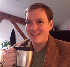 Dan Freund with Coffee