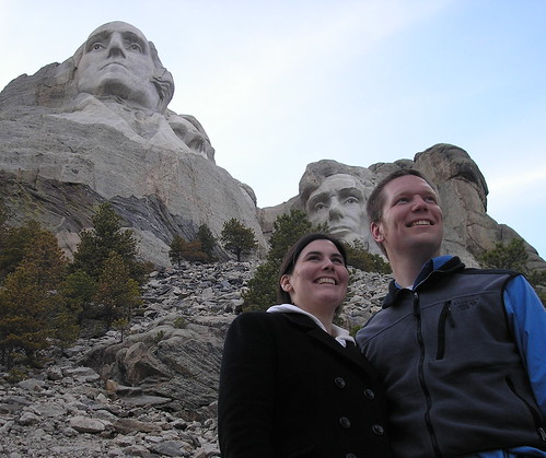 Andrew and Nicole at Mount Rushmore National Memorial - 1