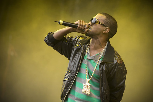 Kanye West by virginfestival.