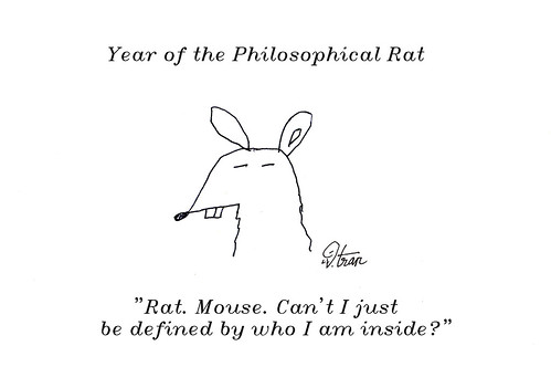 philosophical rat diff font