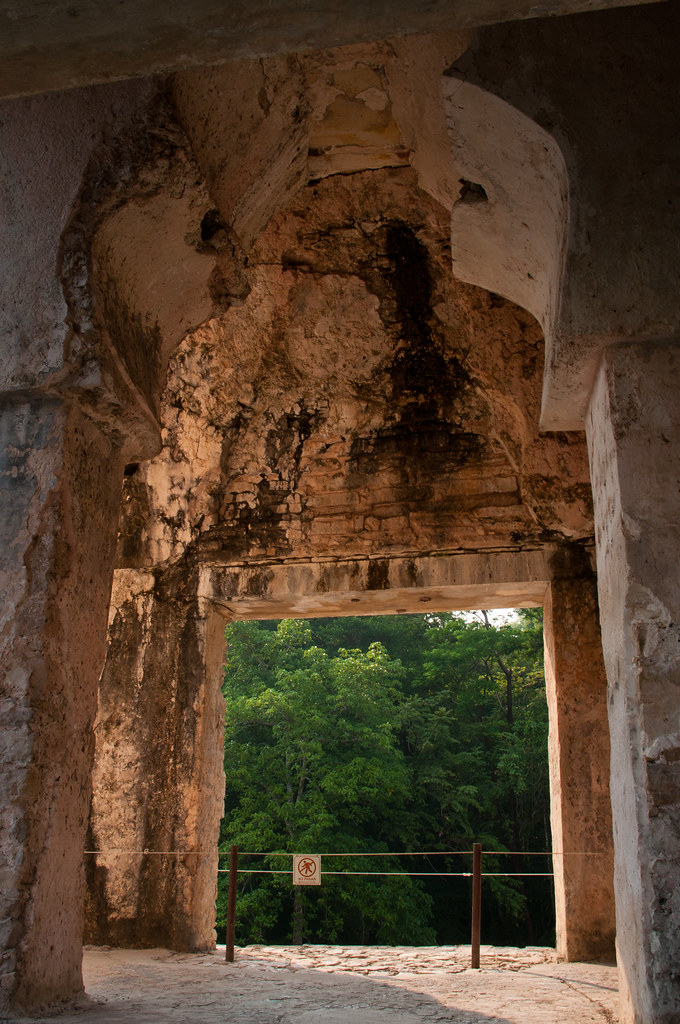 Palenque Ruins - Inside the Palace