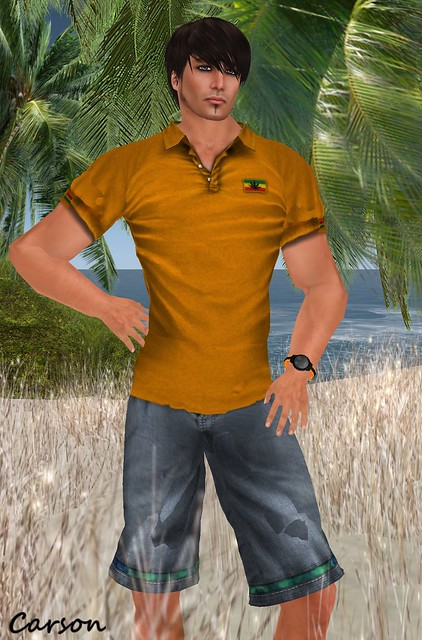 Connors - Polo Shirt and Summer Pants  Couture Fine Jewelry - Bravado X Sport Desert Watch