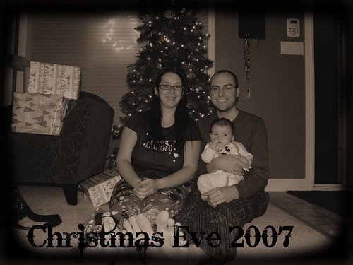 Christmas Eve Family Picture
