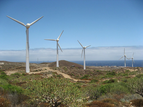 Parque eólico de Arico, Tenerife