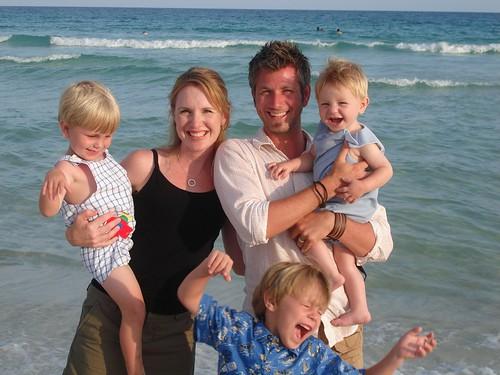 Pete Wilsons Family Photo