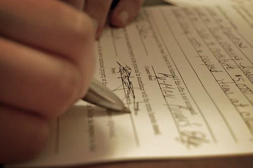 signing a partnership marketing deal