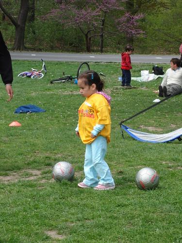 Reluctant soccer star