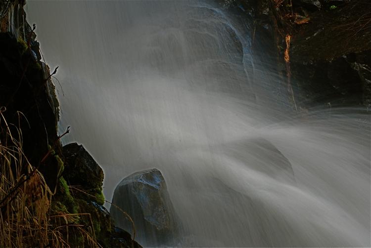 Waterfall at Dog Lake