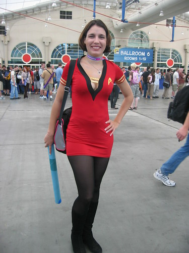 Sexy star trek costumes