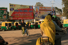 Intersection -- Agra January 2008 by Carol Mitchell, on Flickr