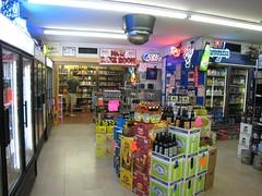 inside Sam's Quick Shop