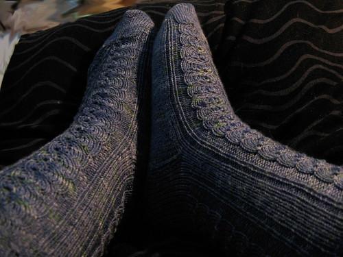 finished MWSI socks
