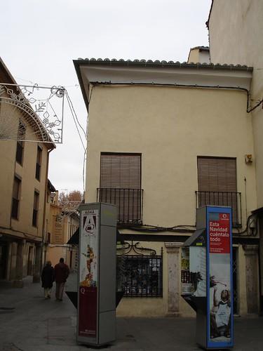 Casa de la Calle Mayor esquina a San Felipe Neri en la actualidad