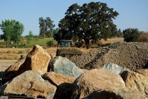Spawning Gravel & Boulders for the River!
