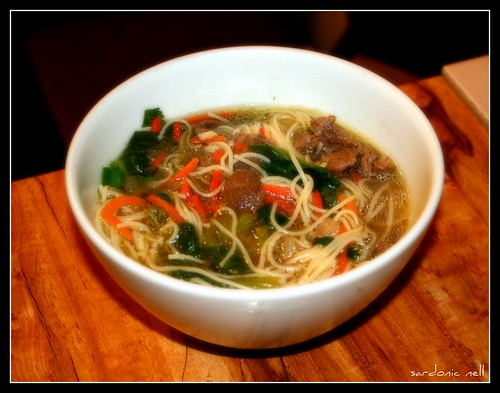 Beef and Lemongrass Soup