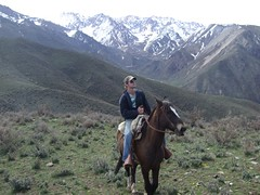 Horseriding, Mendoza, Argentina