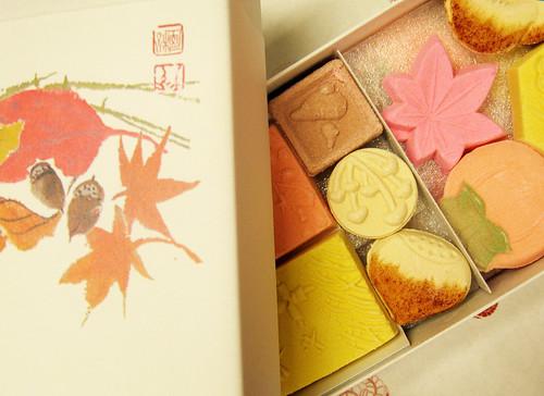 Japanese candies.