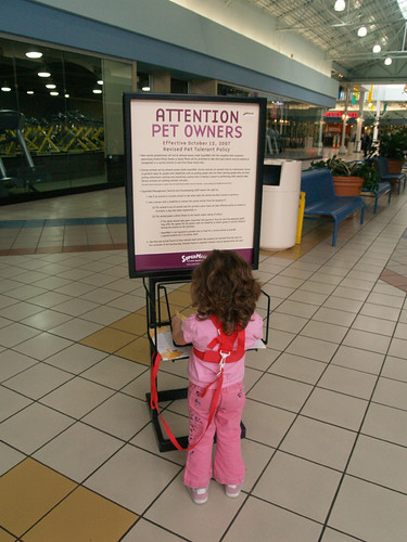 The new SuperMall leash law.