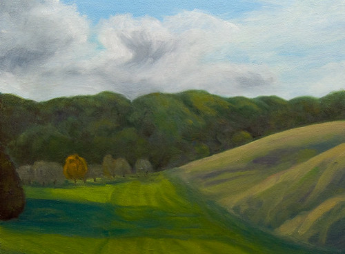 Plein  Air - finished in studio