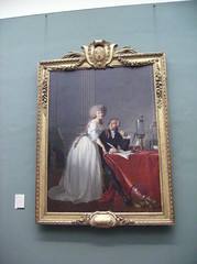 Antoine-Laurent Lavoisier and His Wife (Marie-...