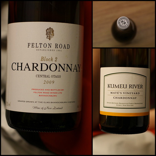 Felton Road vs Kumeu River Chardonnay