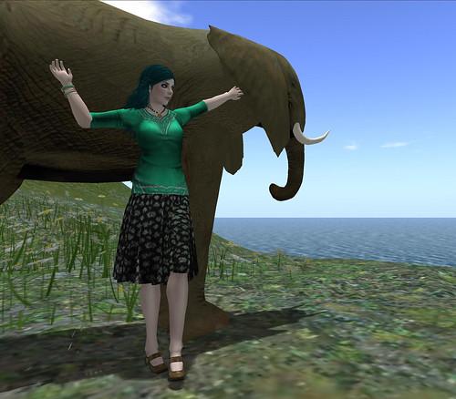 Jade, elephant