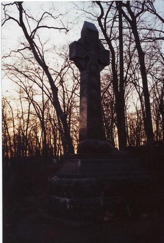 Irish Brigade Monument at sunset