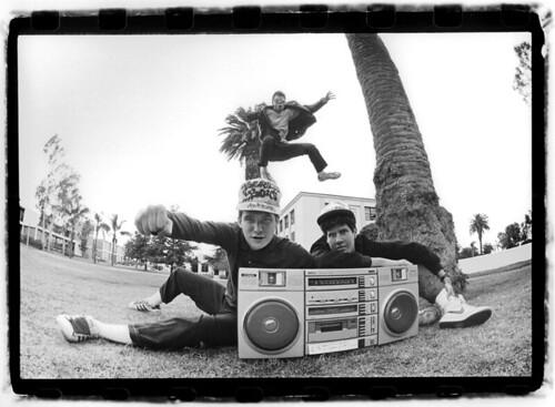 Beastie Boys KXLU Glen E. Friedman