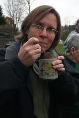Jennifer Tries the Soup