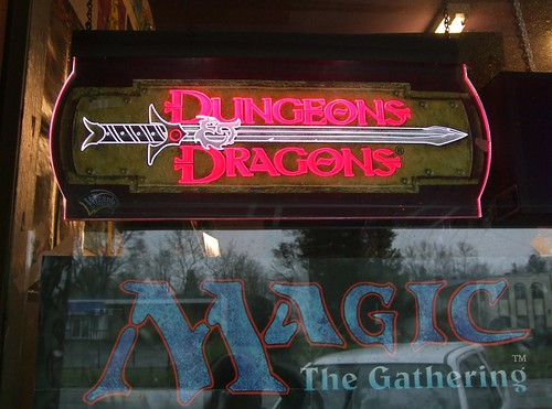 Dungeons & Dragons / Magic The Gathering